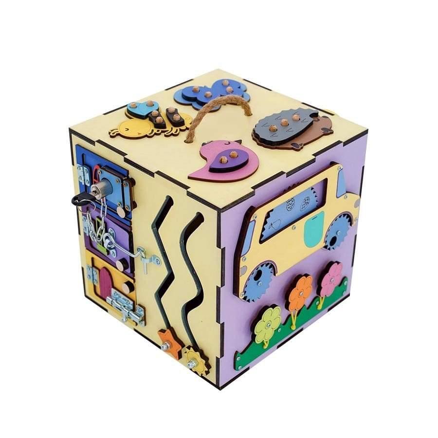 Motricité cube bois grand