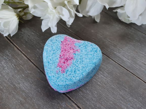 "Bath bomb ""Blue heart"""