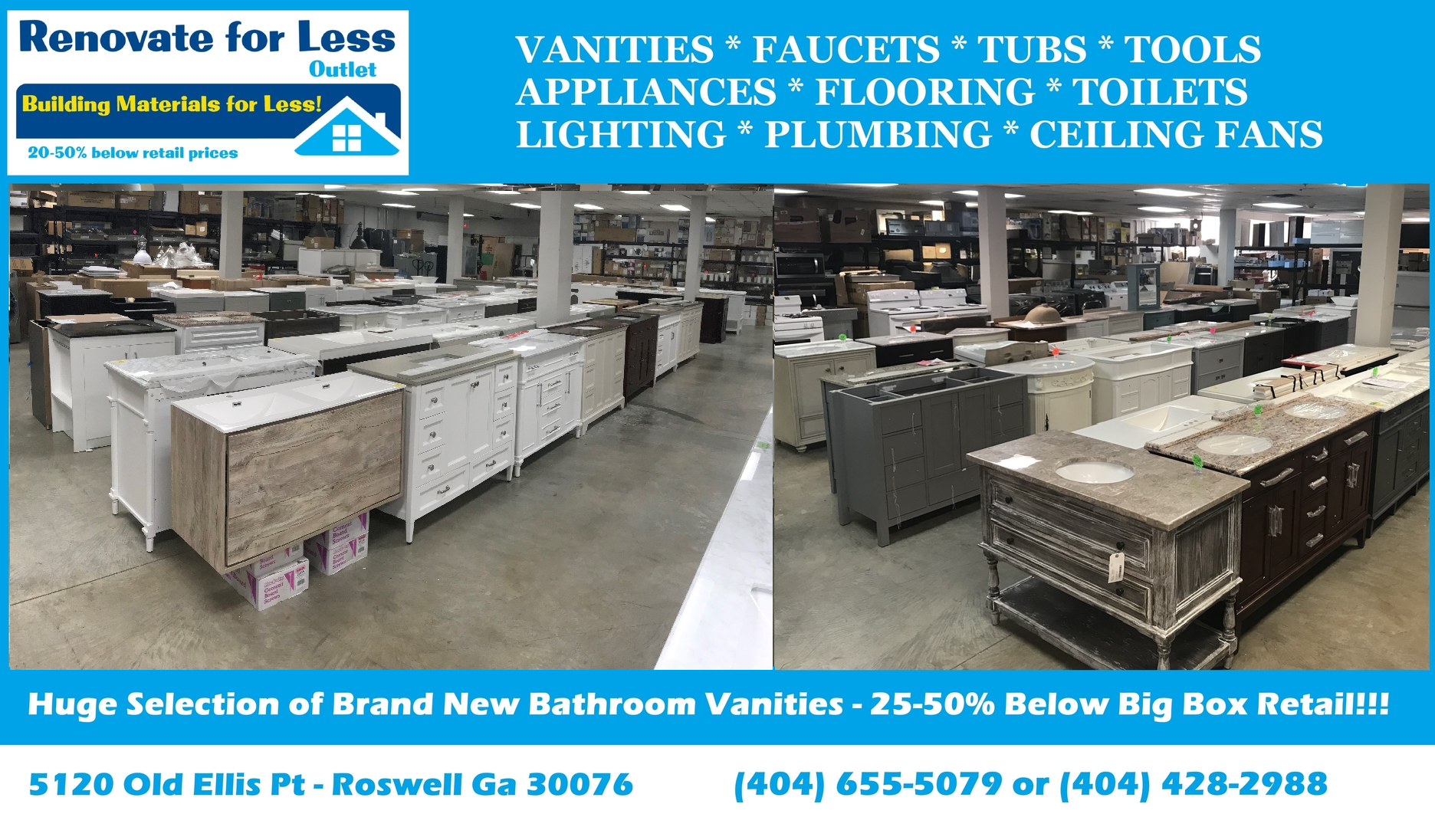 Bathroom Vanities Showroom Atlanta Roswell