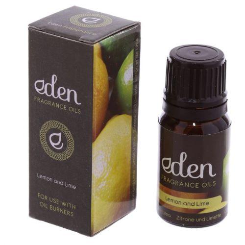 Oil for burner, reed diffuser... 10ml-Lemon and lime Eden Fragrance
