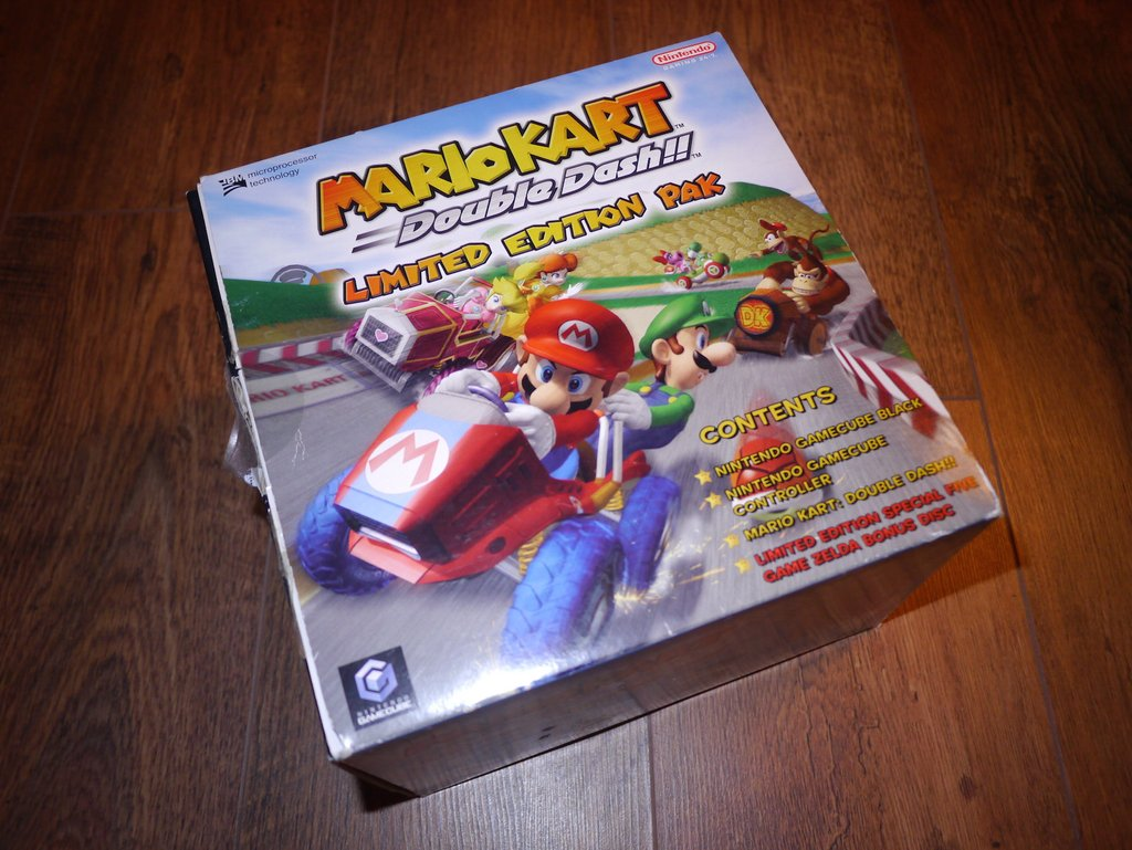 Mario Kart Double dash limited edition