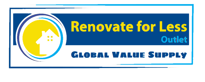 Global Value Supply- Renovate for Less Outlet Logo Bathroom