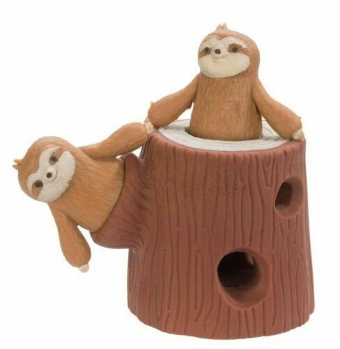 Fidget Sloth Themed Toy Small Two Little Sloths And A Tree Trunk